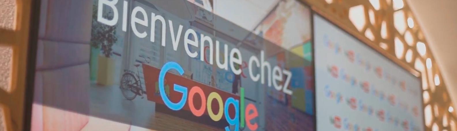 Bienvenue Google