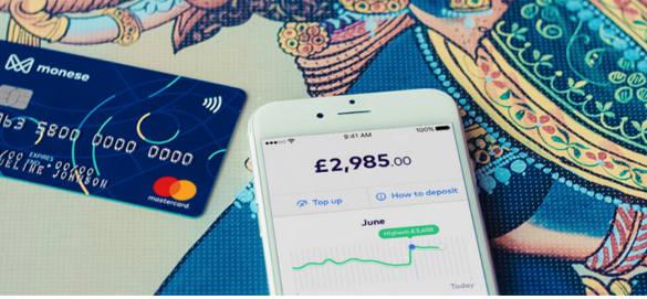 Monese App Credit Card
