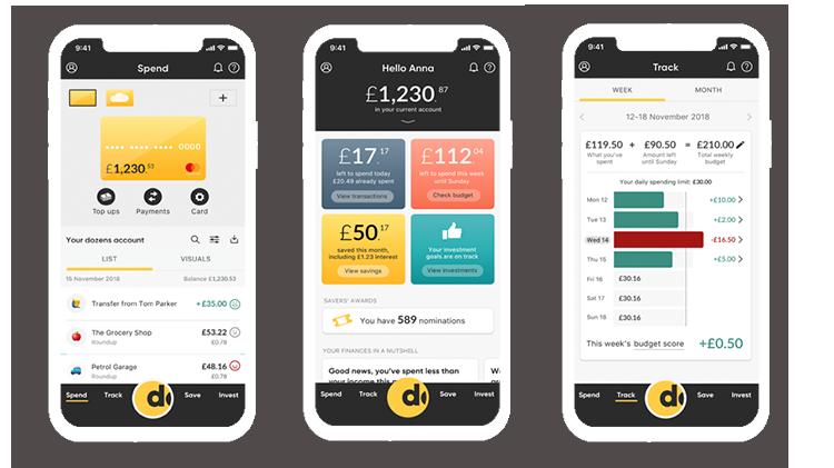 Spending habits: Dozens App