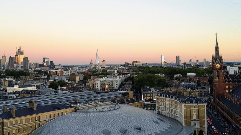 Google Office Roof
