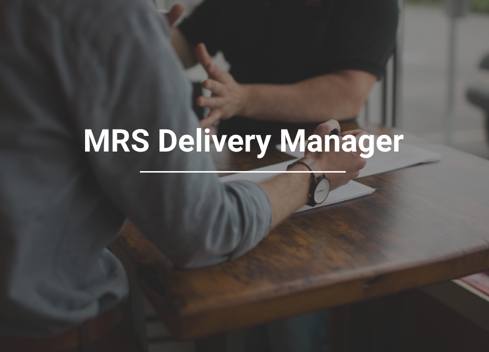 MRS Delivery Manager