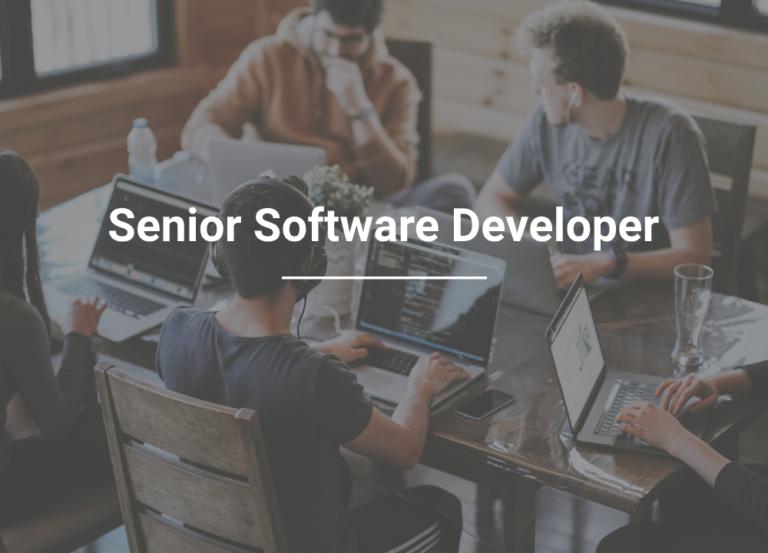 Careers: Senior Software Developer
