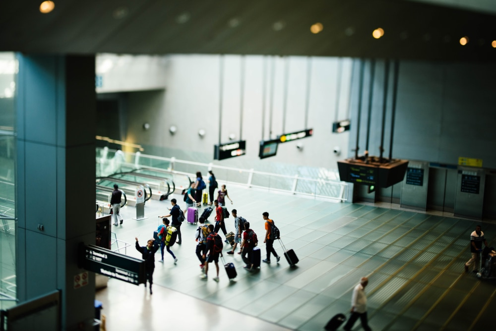 Travel industry on the ropes: Airport view