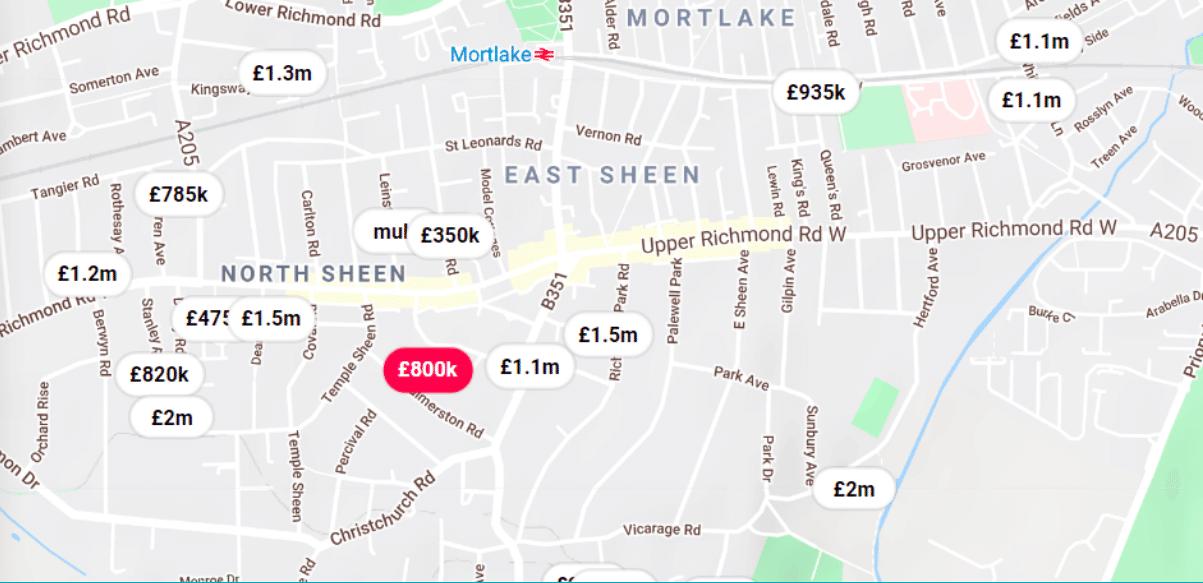 Homesearch Map 2