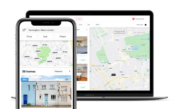 Homesearch Google Maps