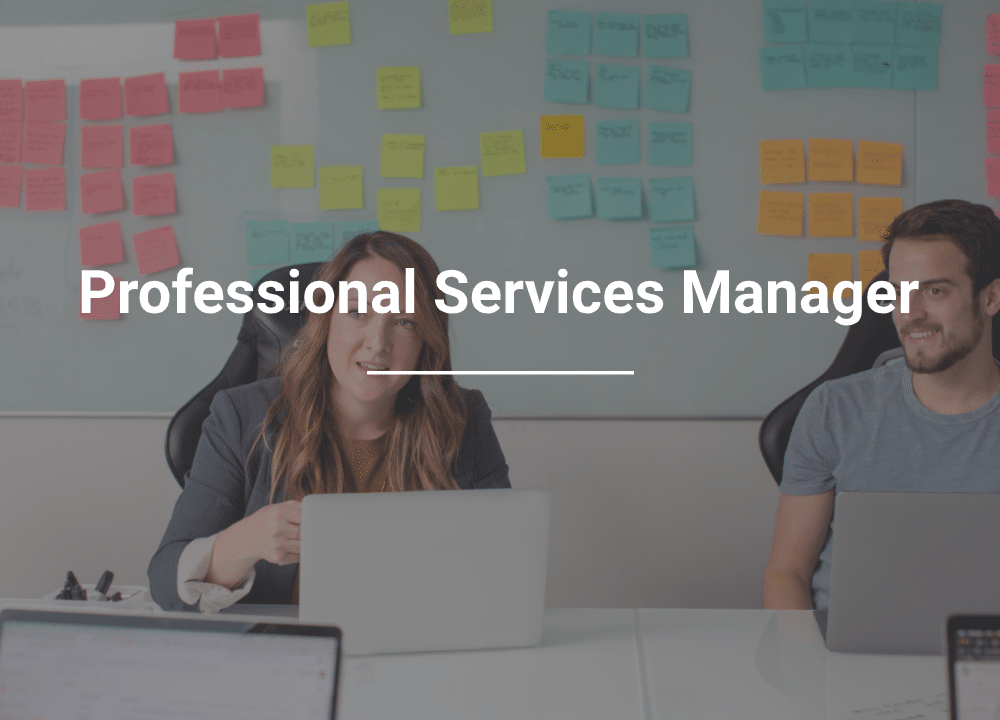 Careers: Professional Services Manager