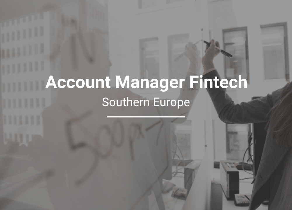 Careers: Account Manager Southern Europe
