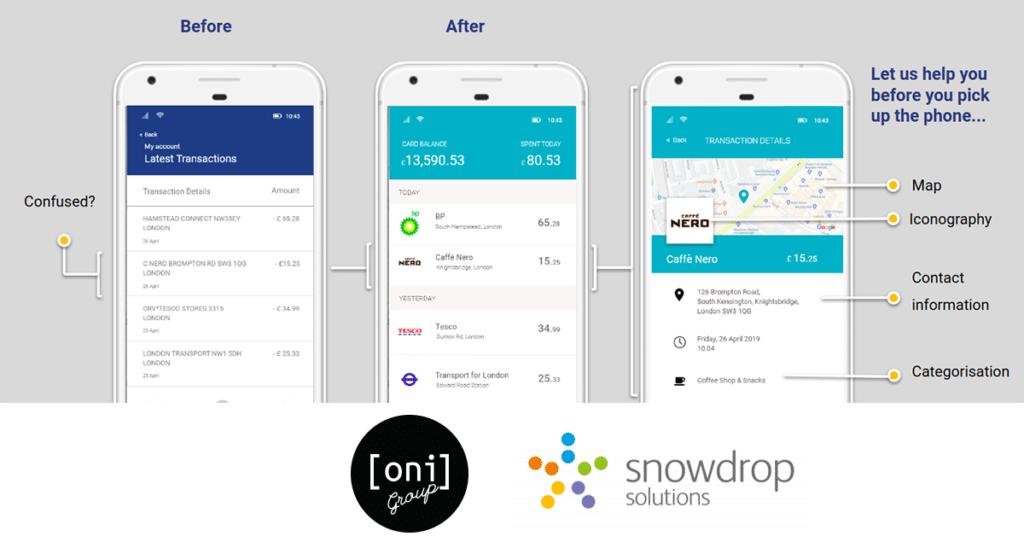 Snowdrop & OniGroup partnership